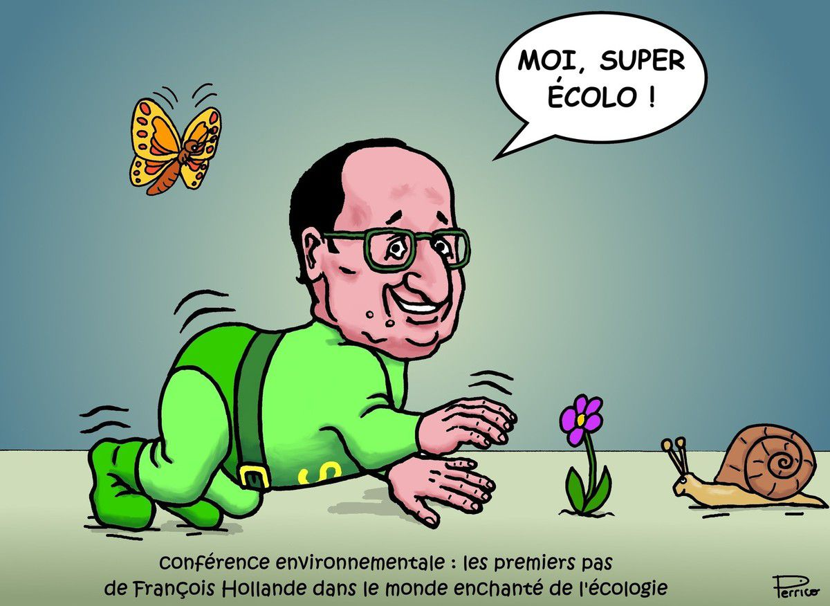 Hollande l'écolo !