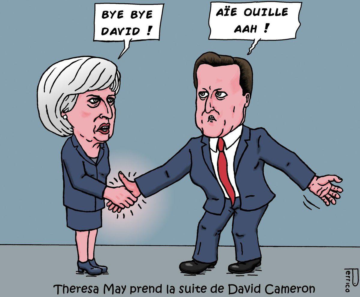 Theresa May, David Cameron, Grande-Bretagne