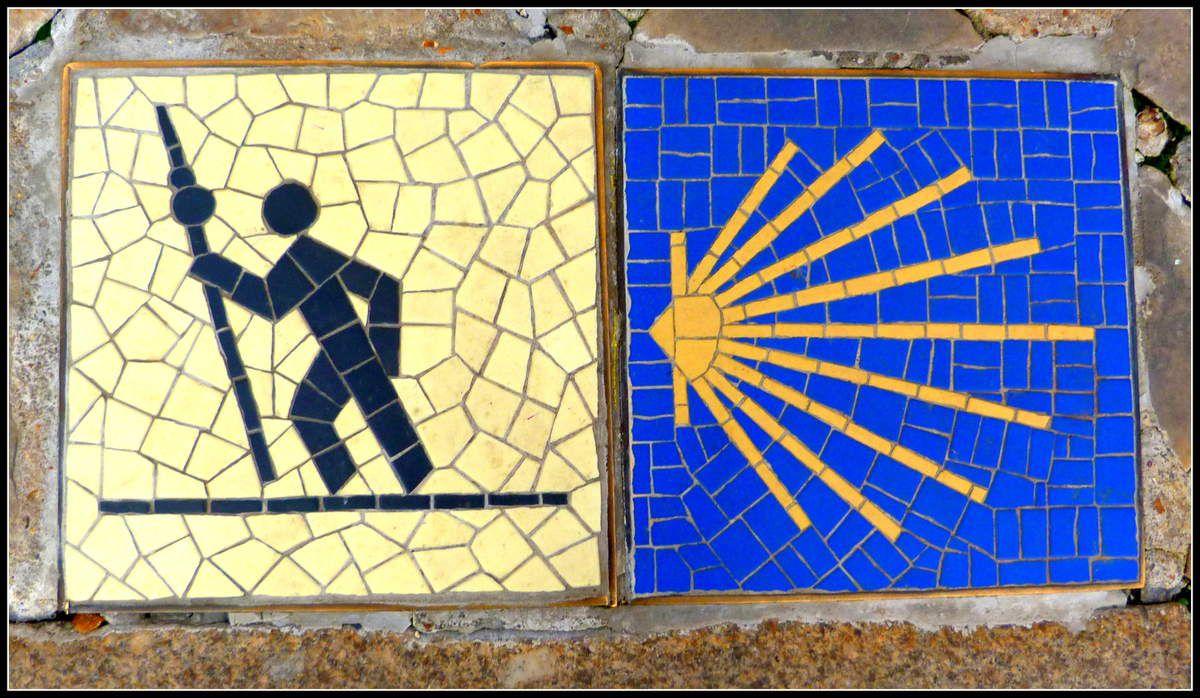 Chartres - mosaïques en ville