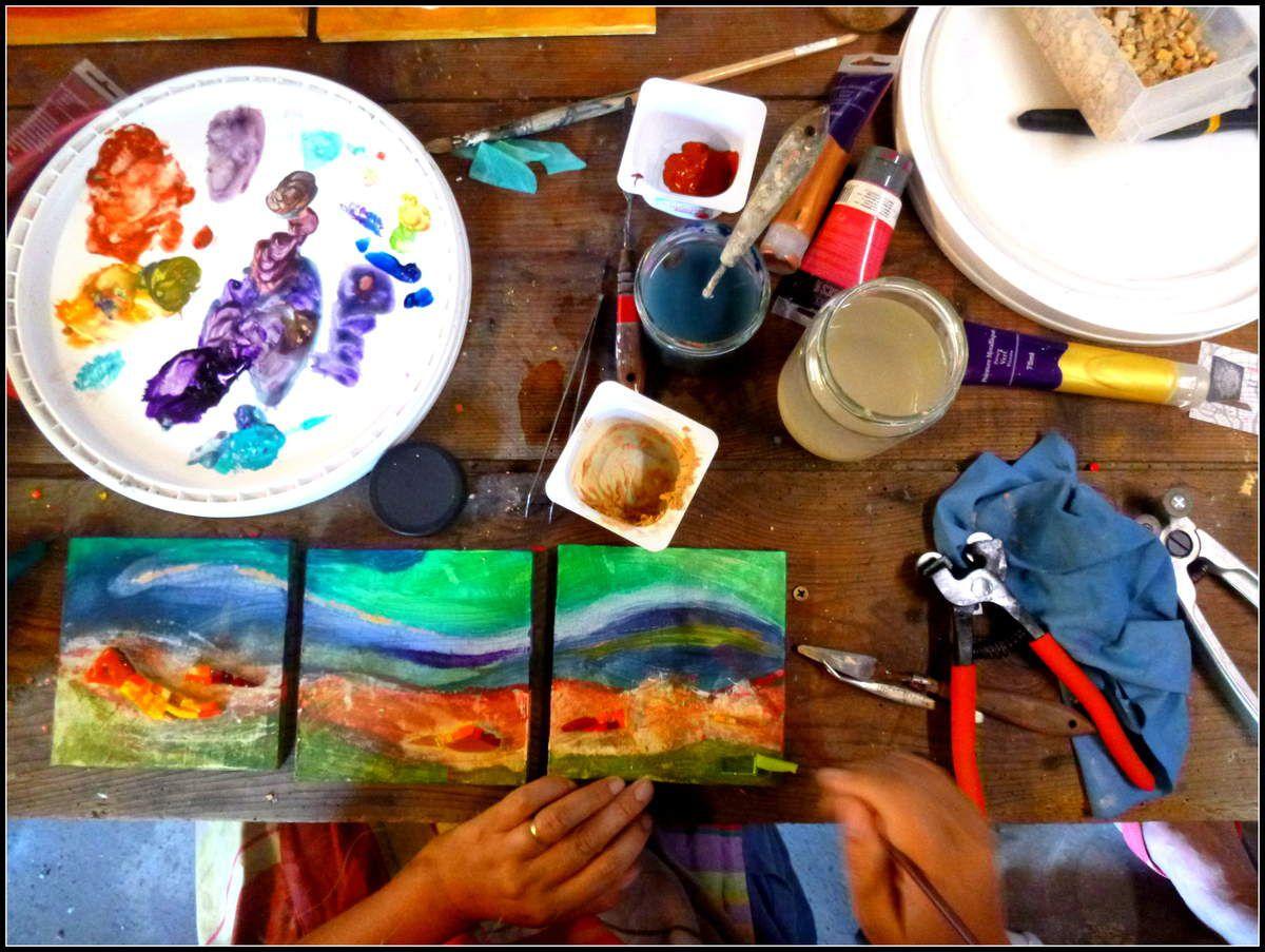 Mosa-paint avec Elisabeth Ragon (1/2)