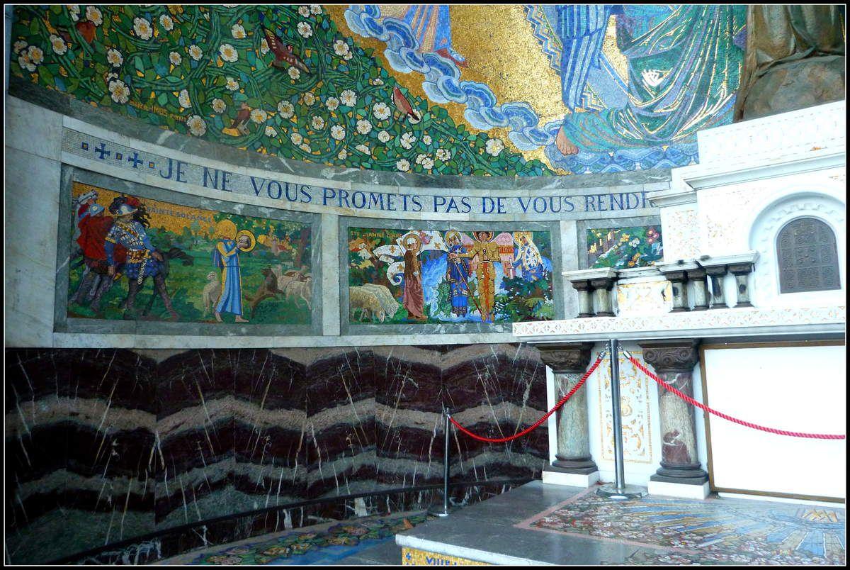 Mosaïques à Lourdes - Basilique Notre-Dame du Rosaire (2/3)