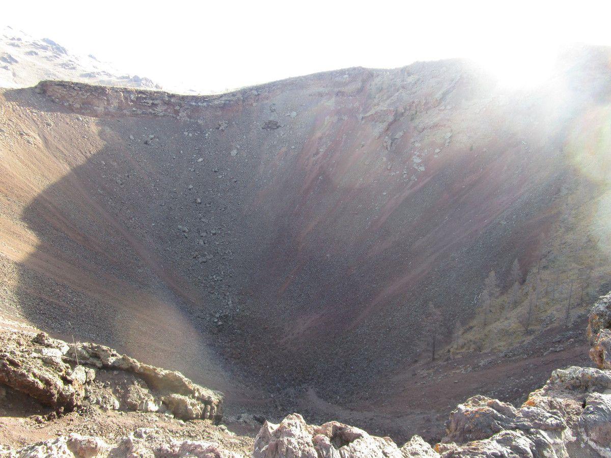 un ancien volcan