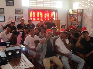 un joli noel a Siem Reap