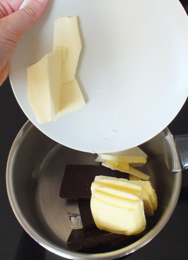 Mettez le beurre.