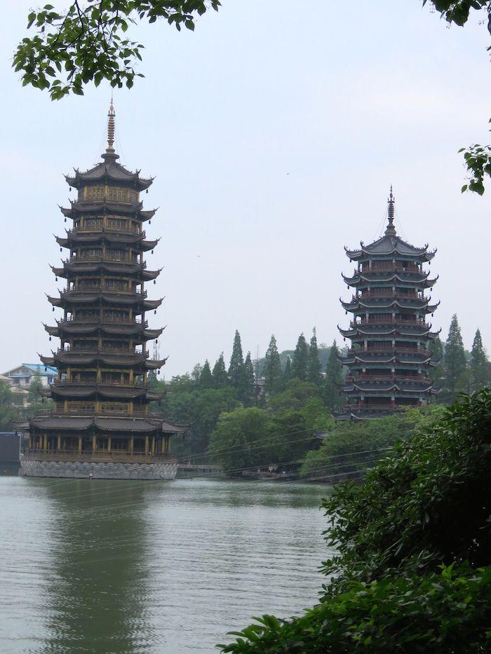 Nos étapes en Chine
