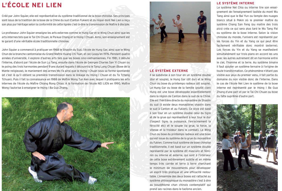 Brochure de présentation de l'Ecole Nei Lien