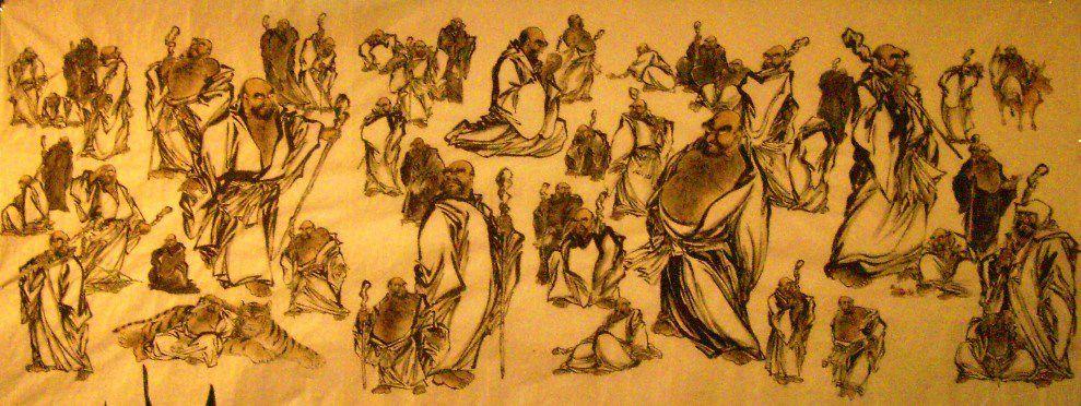 Bodhidharma shaolin dans l 39 histoire kung fu paris i la for Les arts martiaux chinois