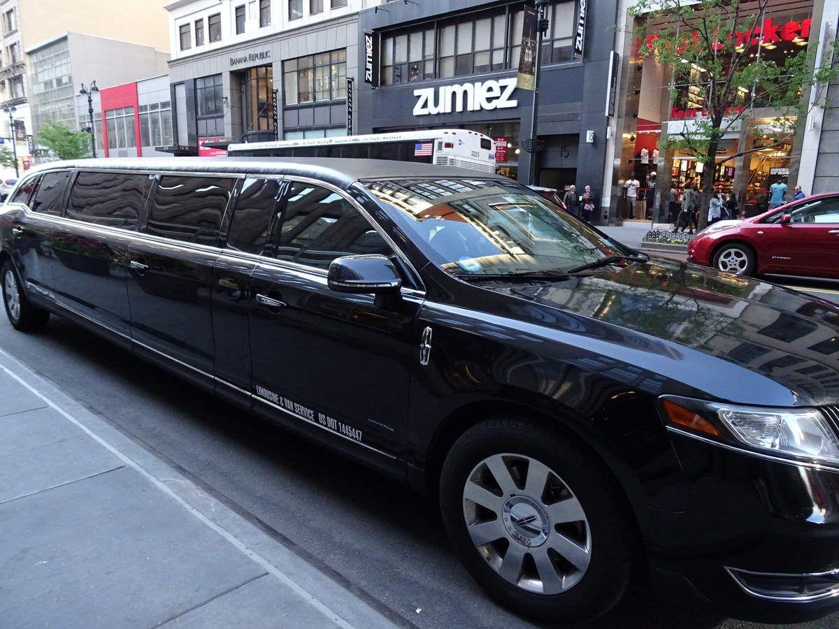 On se la pète!!: Petit tour en Limousine dans Manhattan