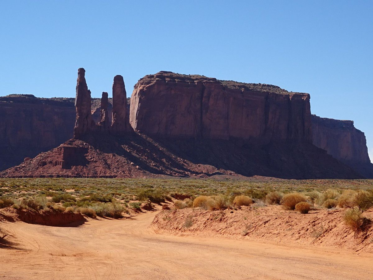 Valley drive- Monument valley