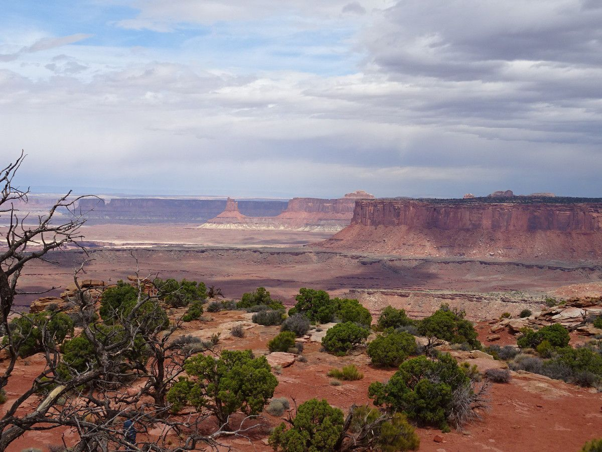 Grand view point overlook, Island in the sky