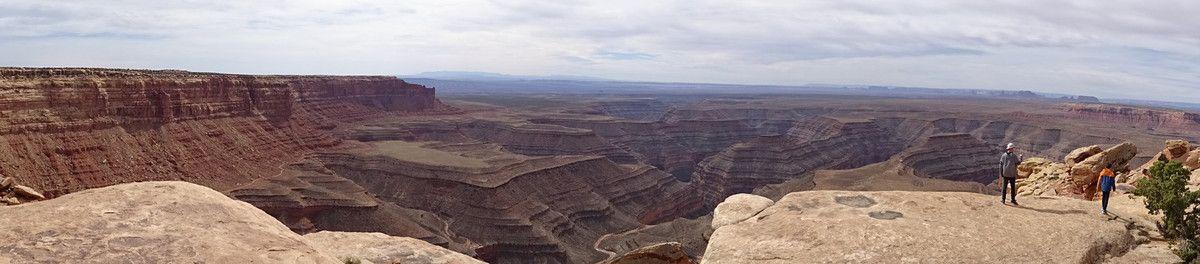 Muley Point (et au loin Monument Valley)