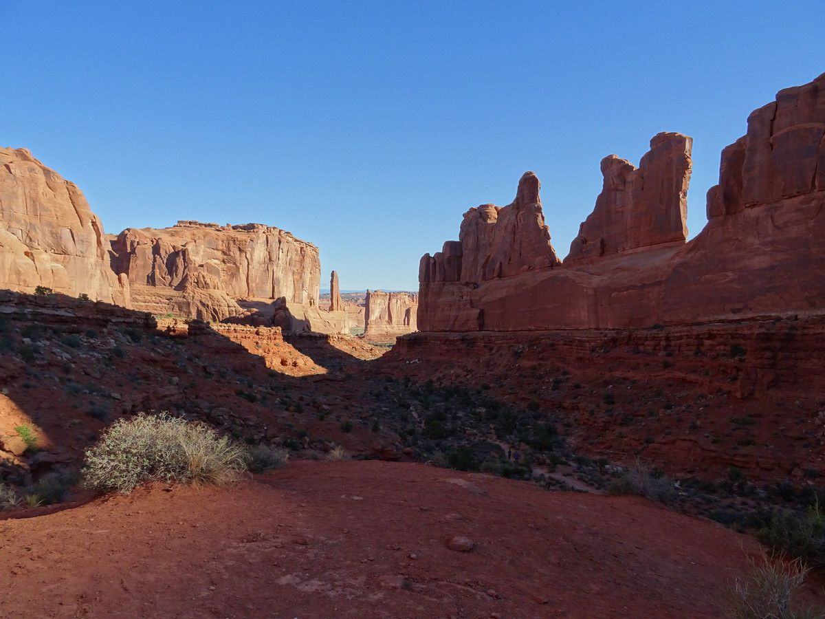 Cathedral valley- parc national des Arches