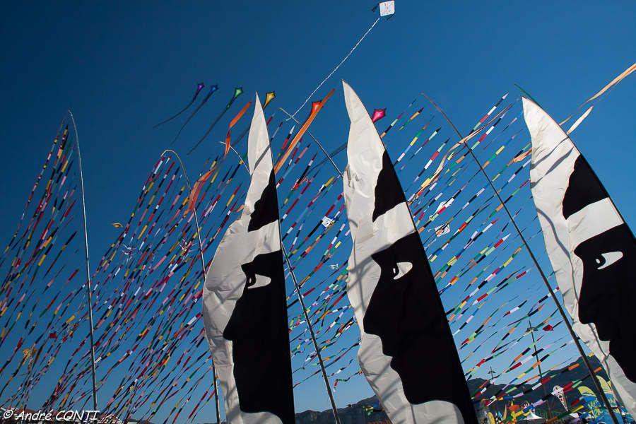 La Fête annuelle du Vent sur la plage du Prado à Marseille (Début Septembre)