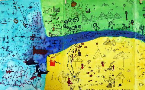 29 juin, 15 h, Moulin Paillard, &quot&#x3B;Dessinons pour la planète&quot&#x3B;