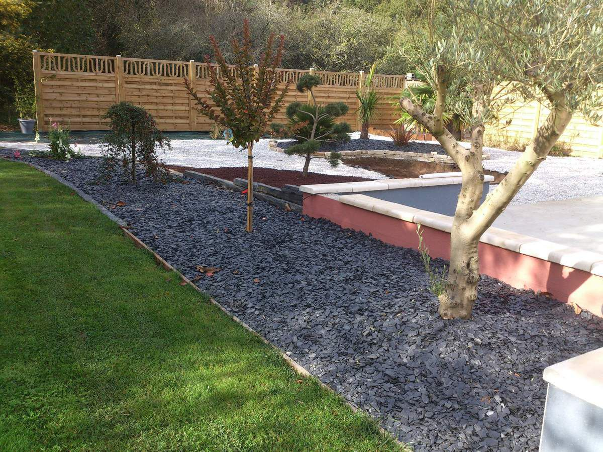 Jardin min ral r alisations for Article de jardin