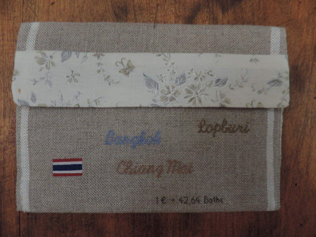 Une enveloppe brodée de Thaïlande