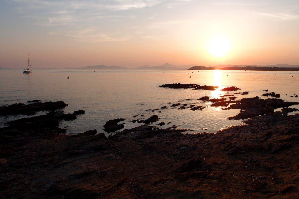 Coucher de soleil sur l'ile d'Oléron