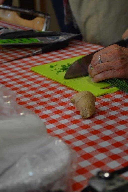 Les Gyozas frit, j'ai oublié de prendre en photo les Gyozas bouillis !