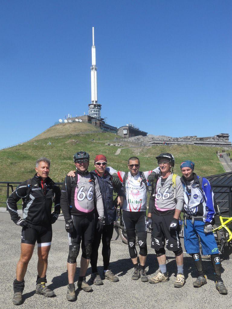 Au sommet du Puy de Dôme