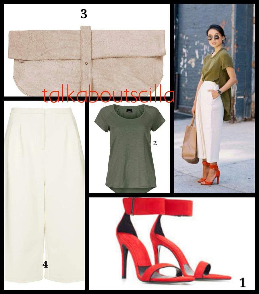 Alternatif look #1 : Margaret Zhang