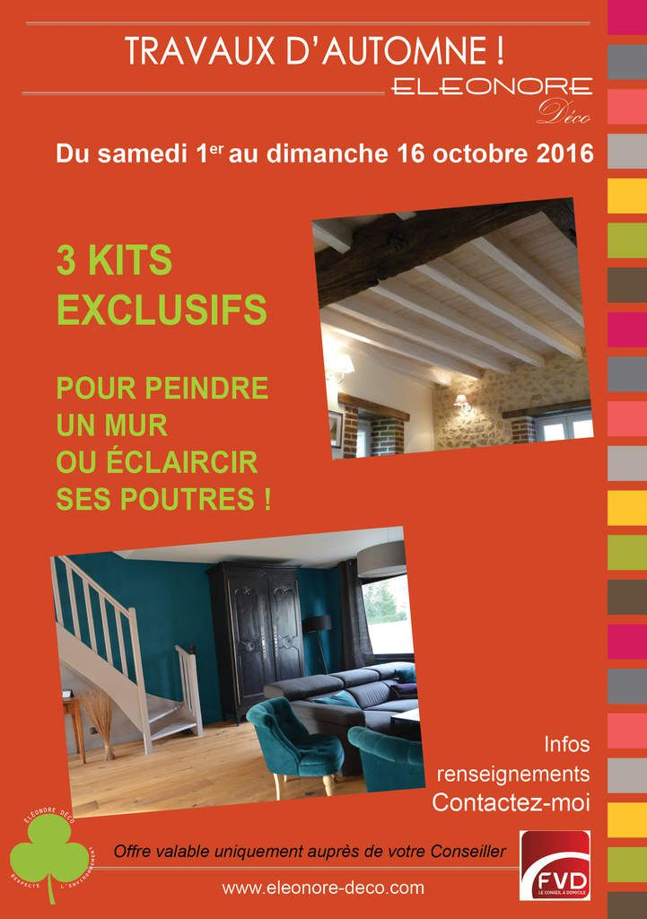 Promo d 39 automne chez el onore clarence d co conseill re for Deco promo