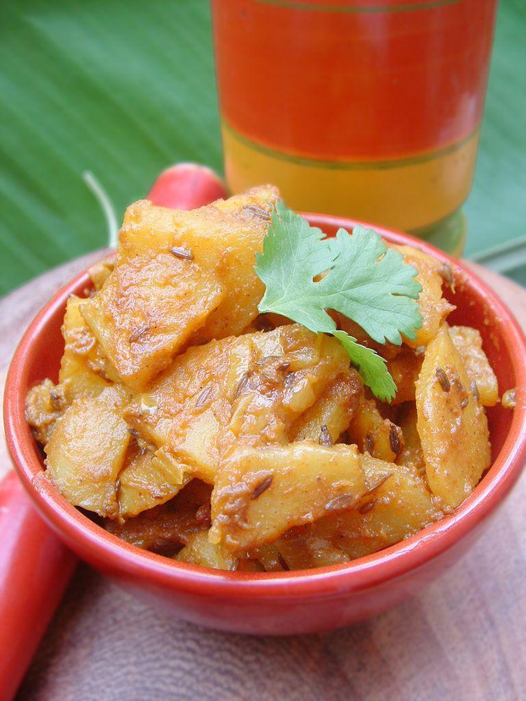 Pommes de terre indiennes au cumin