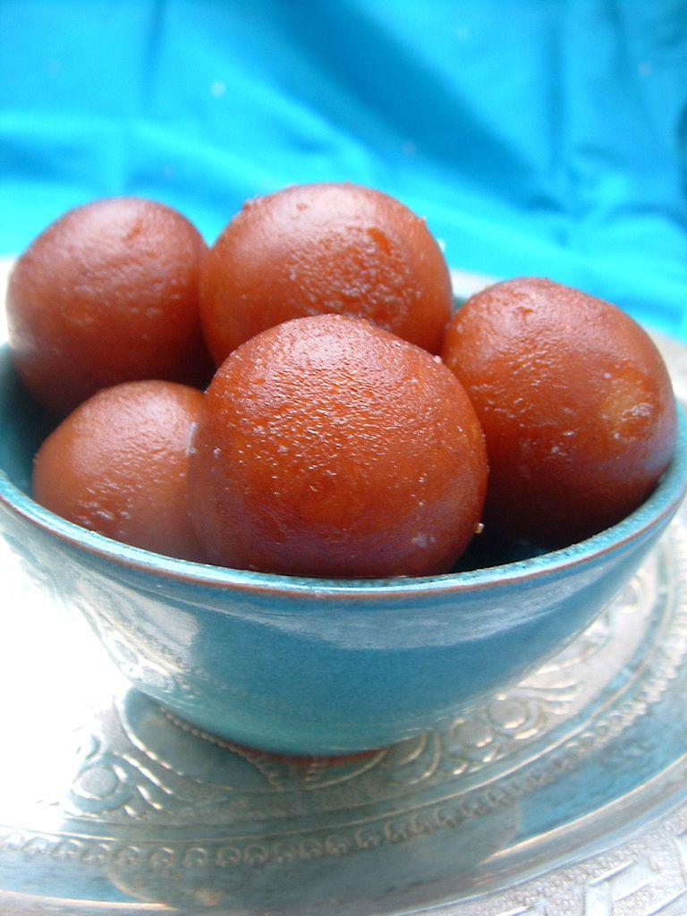 Gulab jamun douceurs indiennes