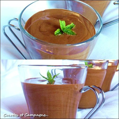 Mousse magique chocolat &amp&#x3B; menthe