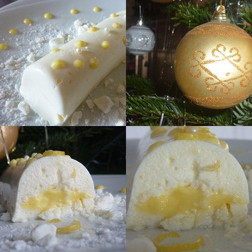 Bûchettes Mousse Citron &amp&#x3B; Mascarpone