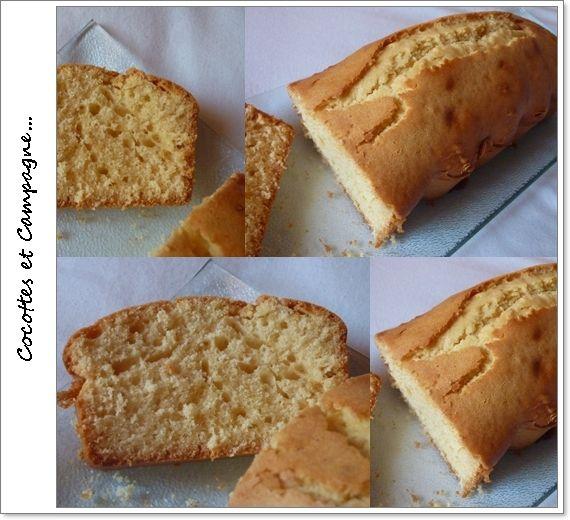 Gâteau au yaourt au miel &amp&#x3B; à l' huile de noisettes