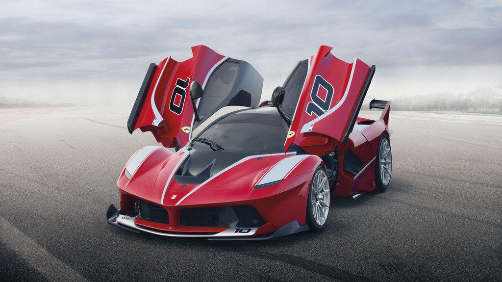Ferrari Laferrari FXX K - photos et caractéristiques officelles