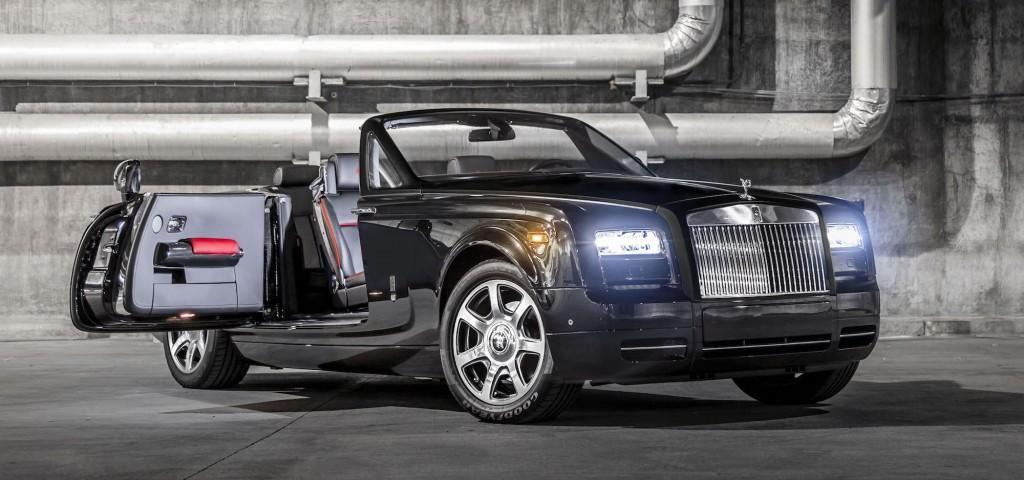 Edition limitée Rolls Royce Nighthawk