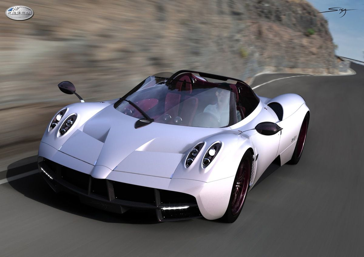 Pagani Huayra roadster - le cabriolet des milliardaires