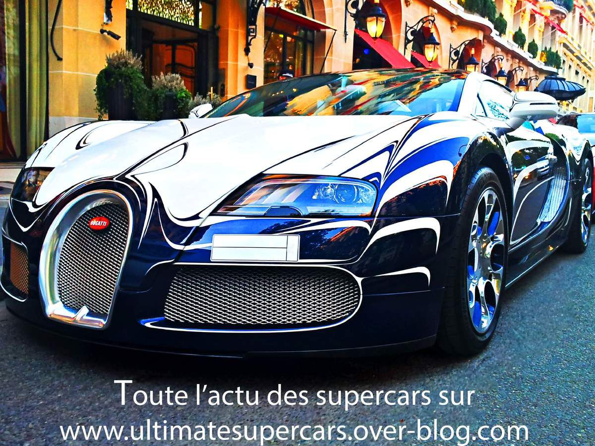 autos tamponneuses bugatti veyron l 39 or blanc exemplaire. Black Bedroom Furniture Sets. Home Design Ideas