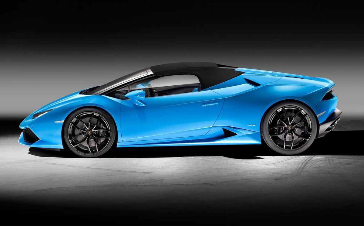 Lamborghini Huracàn Spyder: photos et caractéristiques officielles