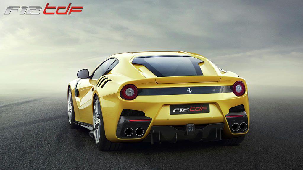 Ferrari F12 tdf: la concurrente de l'Aventador SV est là!