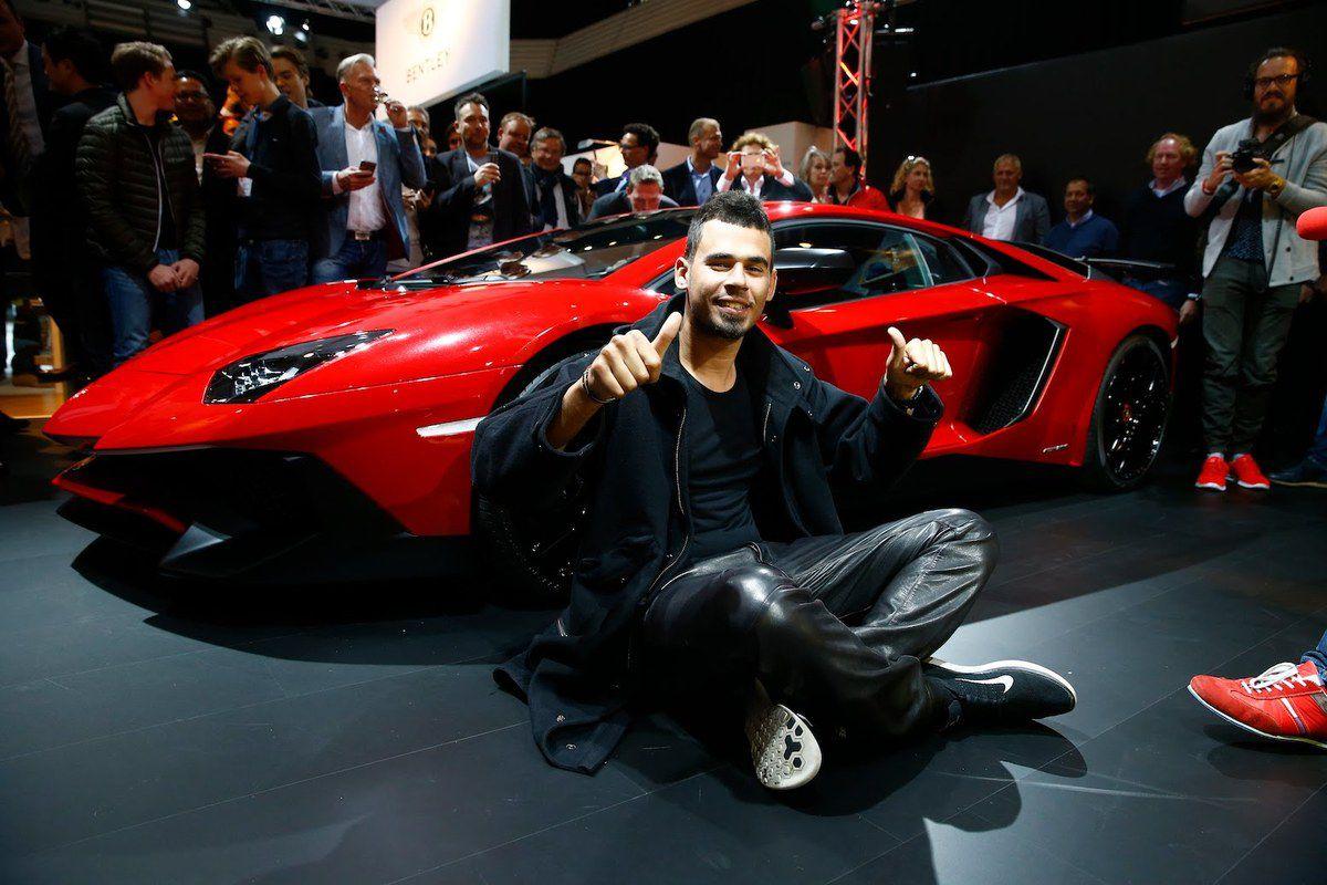 Afrojack et la Lamborghini Aventador Superveloce