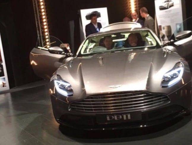 Aston Martin DB11: première image&#x3B; une concurrence à Ferrari, McLaren et Lamborghini?