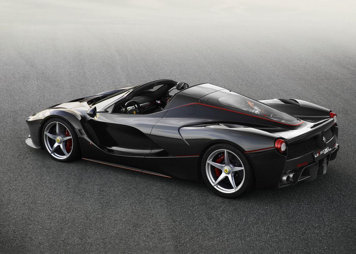 Ferrari Laferrari roadster: démoniaque