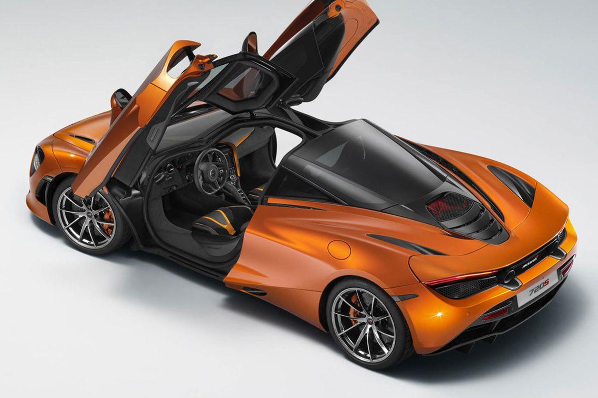 McLaren 720S: premières images officielles