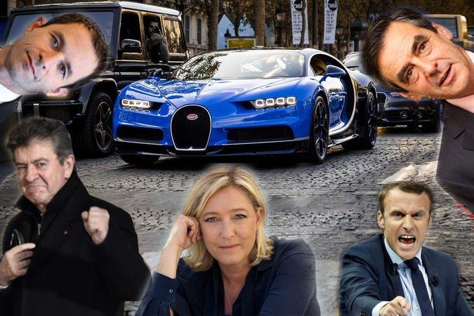 Un candidat à la présidentielle s'achète une voiture à 2,4 millions d'euros