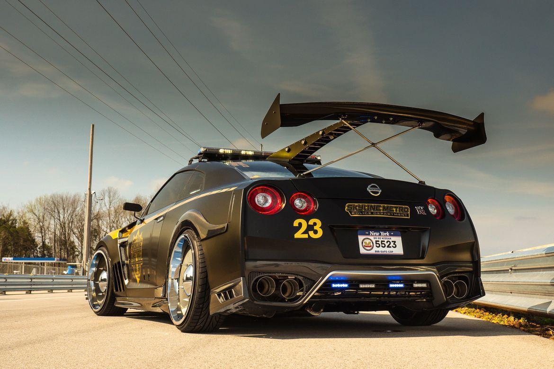 Nissan GT R Police Pursuit #23, vous ne pourrez plus vous échapper!