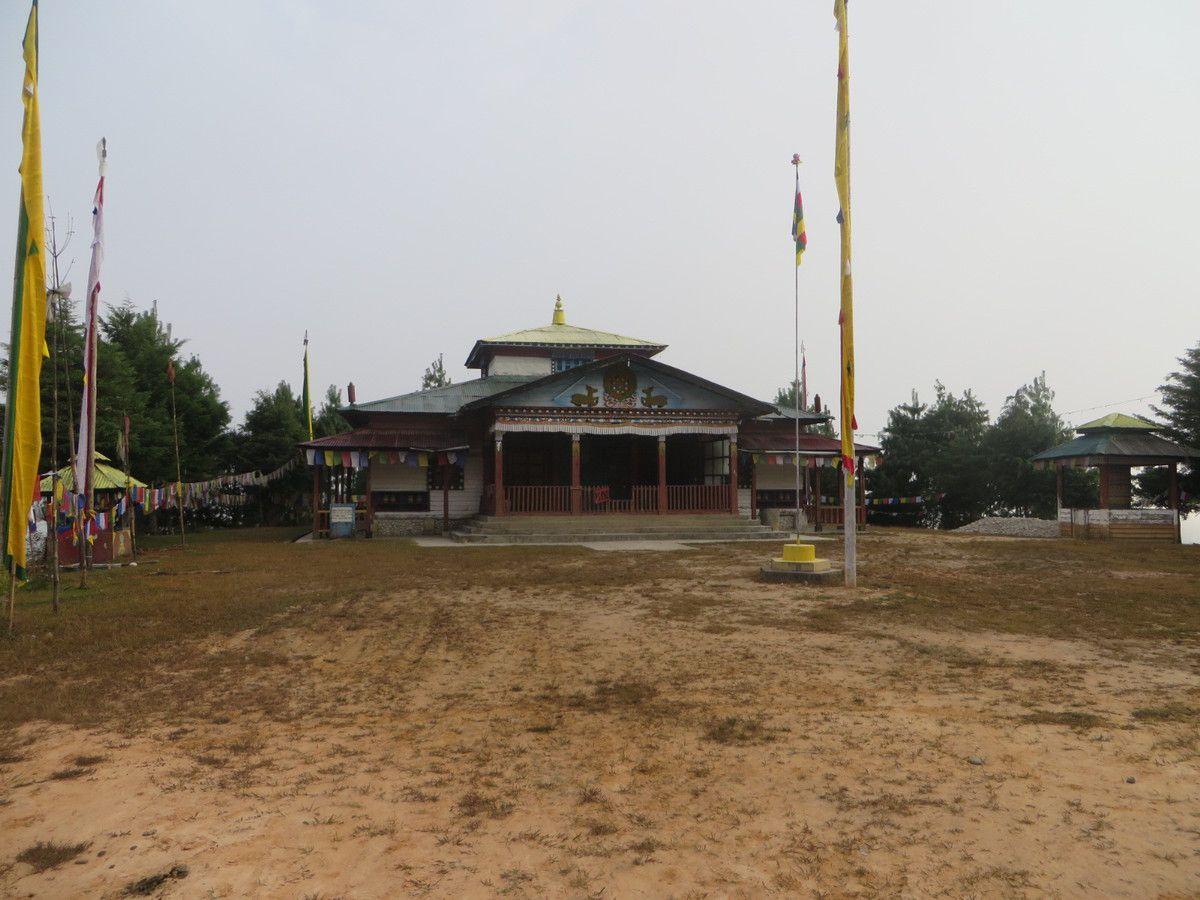 Le nouveau temple bouddhiste