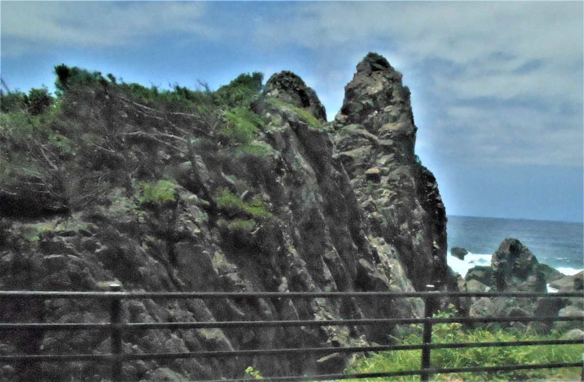 Le cap de Muroto à l'extrême sud-est de Shikoku