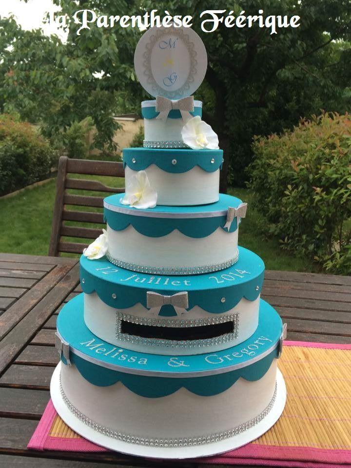 Gateau Wedding Cake Orchidee Bleu