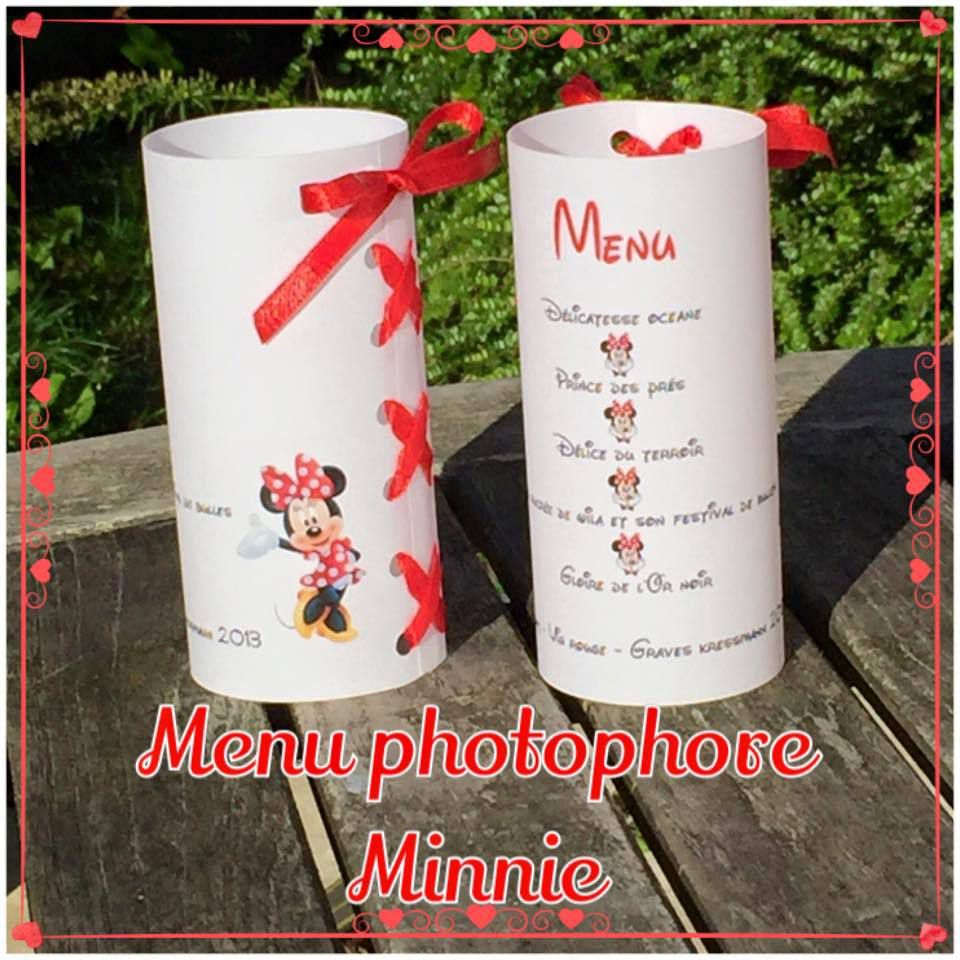 Menu Minnie