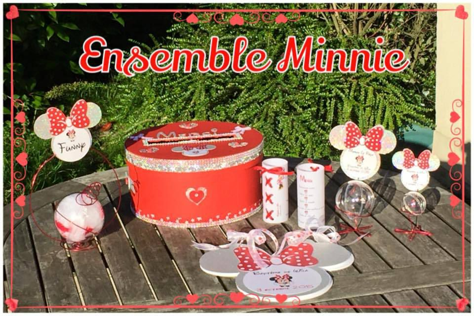 Ensemble décoration Minnie