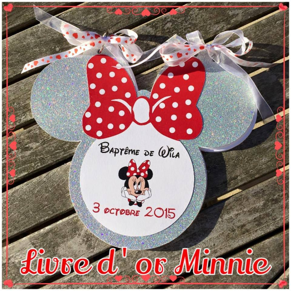 Livre d'or Minnie