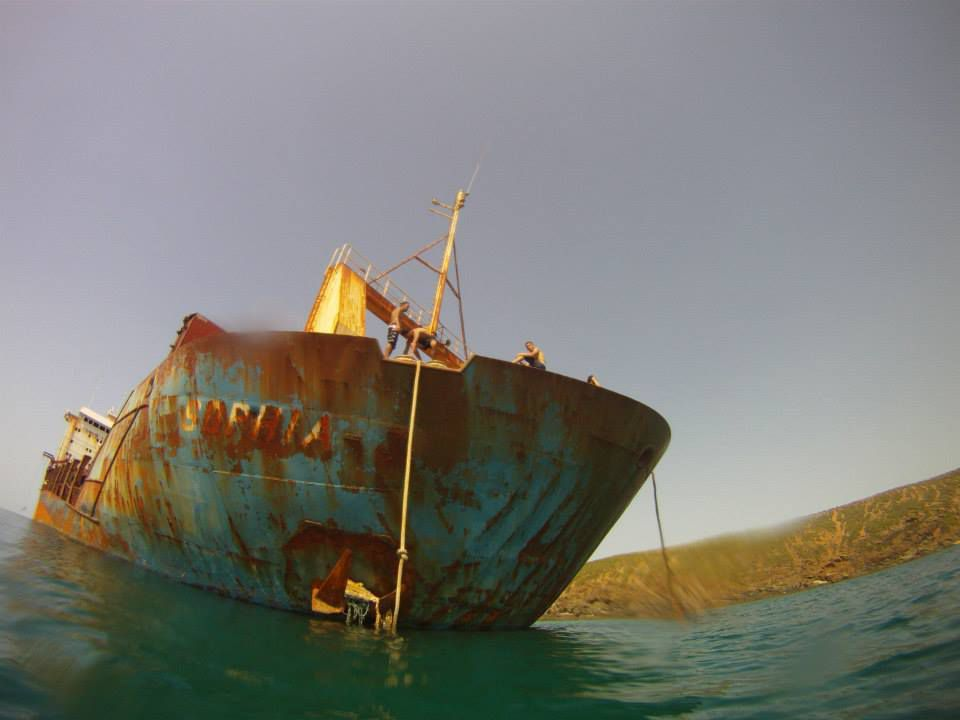 Ces épaves qui échouent sur la côte de Skikda. Par Mouats Hafid