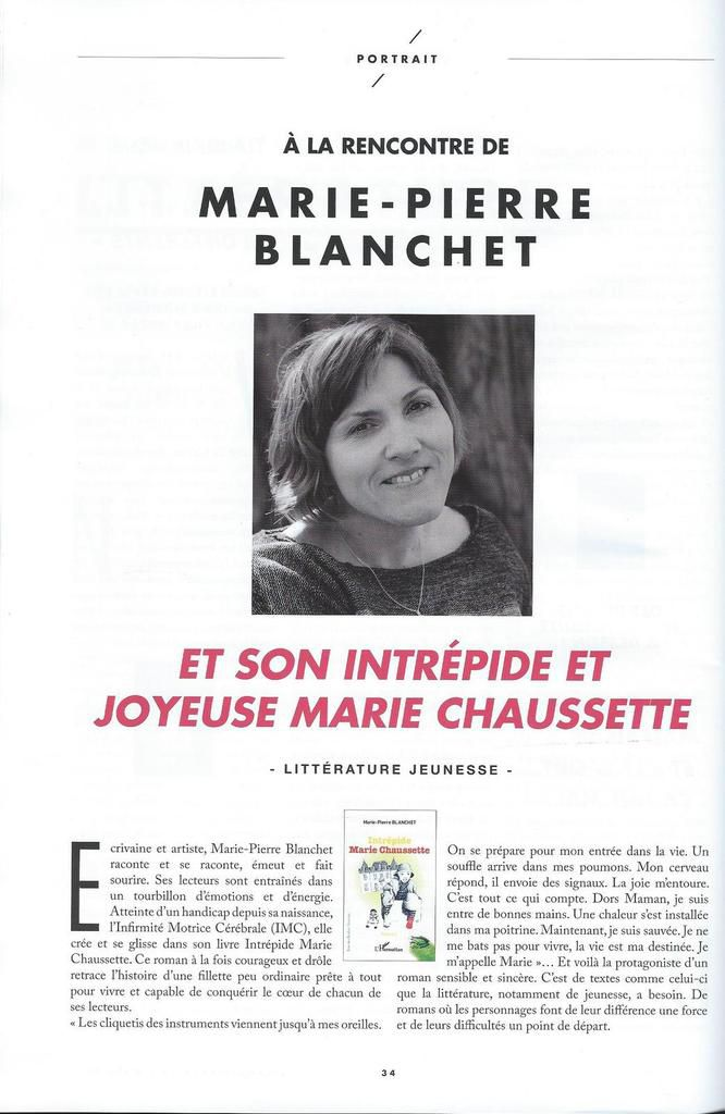 Article paru dans L'Handispensable - Mars 2017